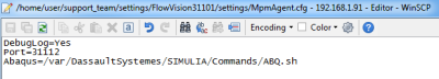 MpmAgent.cfg settings