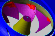 CFD study of prospective 1st stage centrifugal impeller design