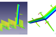 Coupled CFD and structural analysis for world outright sailing speed record preparations