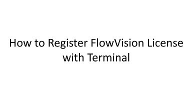 How to Register License with Terminal