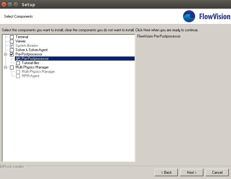 Run of PrePostprocessor on Linux using Wine software